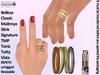 [SuXue] Kyle Bento & Classic UnRigged Rings Hud Resize Belleza Classic Maitreya Slink Signature TMP Tonic Tutty Vista FM