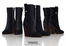 TETRA - Horizon boots (Black) 3 in 1!