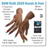 Blackburns BOM Ruth 2020 Hands & Feet