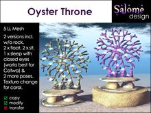 Oyster Throne for Mer