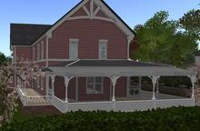 D-VINE DESIGNS BELLISSERIA VICTORIAN HARDY ADD ON-b porch rails screened room 40li