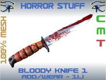 HORROR STUFF - BLOODY KNIFE