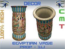 DECOR - EGYPTIAN VASE