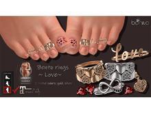 *Bonita* bento rings ~ Love~ (Maitreya, Legacy)