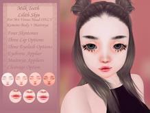 milk teeth. Lilith Skin Fatpack for M4 Venus, Kemono & Maitreya