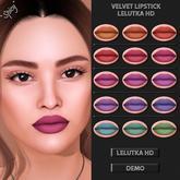 *Spicy* Velvet lipstick pack - Lelutka HD