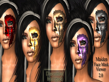 *DE Designs* - Maiden Face Masks - Multipack