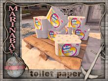 toilet paper palet