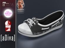 aDiva Doll Skull Sneaker TMP&Slink&Maitreya Flat Feet
