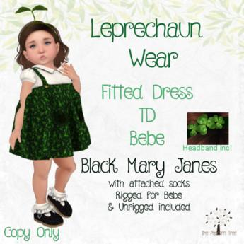 TPT - Leprechaun Wear Dress - TD/Bebe