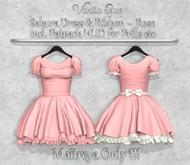*Vanilla Bae* Sakura Dress - Pink - Strip Me Collection - Maitreya