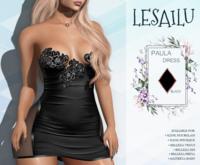 LESAILU - Paula dress - black
