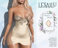 LESAILU - Paula dress - beige