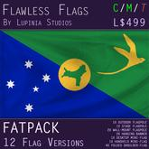 Christmas Island Flag (Fatpack, 12 Versions)