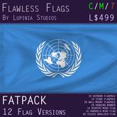 United Nations (UN) Flag (Fatpack, 12 Versions)