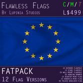 European Union (EU) Flag (Fatpack, 12 Versions) - INCLUDES MILKSHAKE
