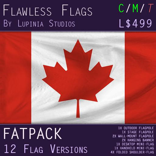 Canada Flag (Full Kit, Boxed) - Flawless Flags
