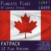 Canada Flag (Fatpack, 12 Versions)