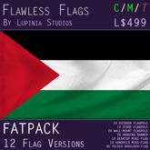 Palestine Flag (Fatpack, 12 Versions)
