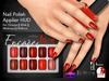 [Encore] Nail Appliers - Shades of Red (Slink/Omega/Belleza/Maitreya)