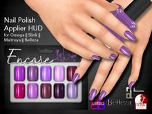 [Encore] Nail Appliers - Shades of Purple (Slink/Omega/Belleza/Maitreya)