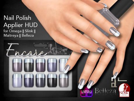 [Encore] Nail Appliers - Metallic Greys