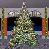 NEW! Christmas Tree - beautiful classic tree - 1 PRIM version