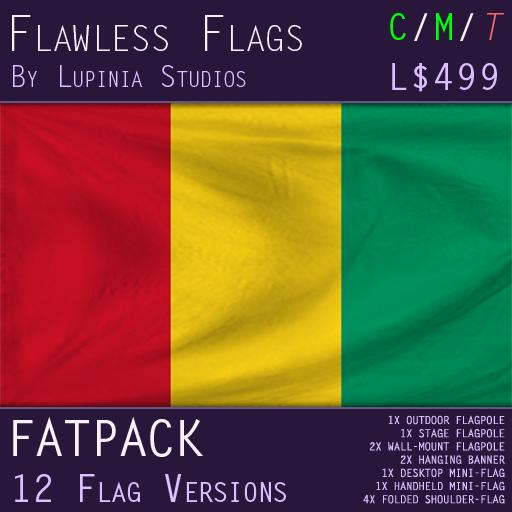 Guinea Flag (Fatpack, 12 Versions)