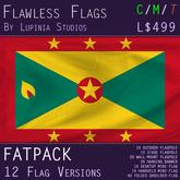 Grenada Flag (Fatpack, 12 Versions)