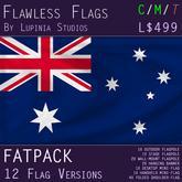 Australia Flag (Fatpack, 12 Versions)