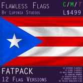 Puerto Rico Flag (Full Kit, Boxed) - Flawless Flags