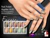 [Encore] Nail Appliers - Set 36 (Slink/Omega/Belleza/Maitreya)