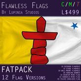 Nunavut Flag (Fatpack, 12 Versions)
