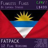 Antigua and Barbuda Flag (Fatpack, 12 Versions)
