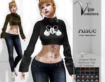 [Vips Creations] - Original Mesh Top - [Alice-Mickey]HUD