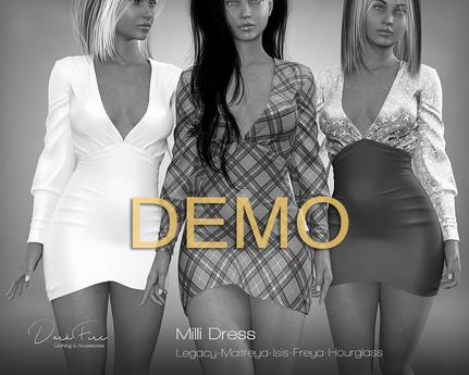 DarkFire Milli Dress // DEMO
