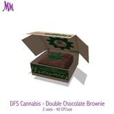 DFS Cannabis - Double Chocolate Brownie