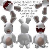 raving rabbid avatar (lapins crétins)