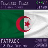 Algeria Flag (Fatpack, 12 Versions)