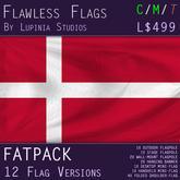 Denmark Flag (Fatpack, 12 Versions)