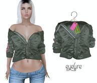 Eyelure Bomber Jacket - Green