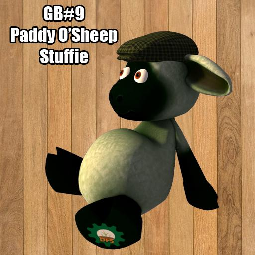 DFS GB#9 - Paddy O'Sheep Stuffie ( Texture )