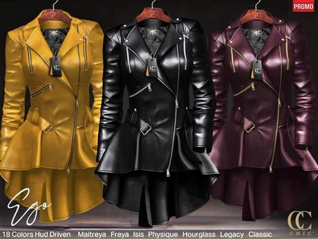 [CHIC] PROMO EGO LEATHER DRESS
