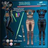 [The Forge] Jada Jacket, Black
