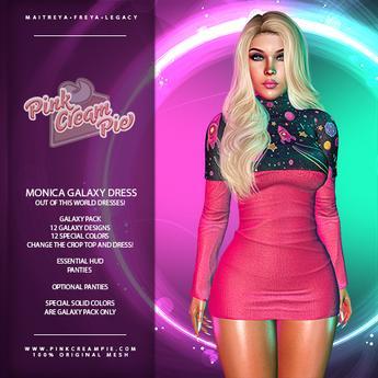 !PCP :: Monica Dress [Galaxy Pack]