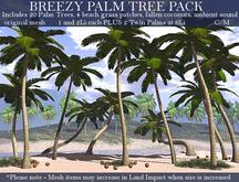 LOVE - BREEZY PALM TREE PACK  - 20 TREES