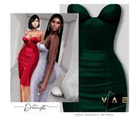 Vague. Datenight Dress Emerald