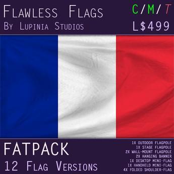 France Flag (Full Kit, Boxed) - Flawless Flags