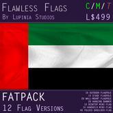 United Arab Emirates Flag (Fatpack, 12 Versions)