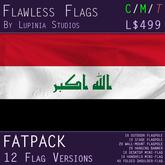 Iraq Flag (Fatpack, 12 Versions)